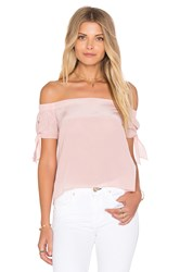Amanda Uprichard Desiree Top Pink