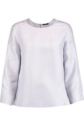 Raoul Bonnie Washed Silk Top Lilac