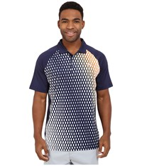 Puma Gt Dimension Polo Peacoat Men's Clothing Blue