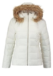 Teddy Smith Brety Winter Jacket Middle White Off White