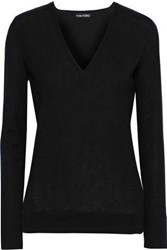 Tom Ford Woman Brushed Cashmere Sweater Black
