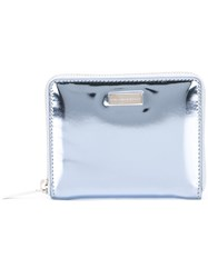 Stella Mccartney Mini Top Zip Wallet Blue