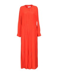 Jucca Long Dresses Red