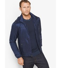 Quilted Nylon Jacket Midnight