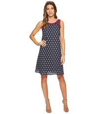 Hatley Viola Dress Navy Valentia
