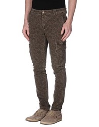 Havana And Co. Casual Pants Dark Brown