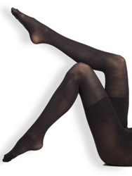 Spanx Ribbed Tights Black