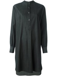Dusan 'Gabardine' Shirt Dress Grey
