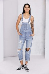 Bdg Ryder Boyfriend Overall Vintage Slash Vintage Denim Medium