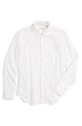 Men's Burberry London 'Southbrook' Trim Fit Heart Print Sport Shirt