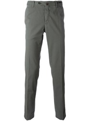 Pt01 Off Centre Button Chinos Grey
