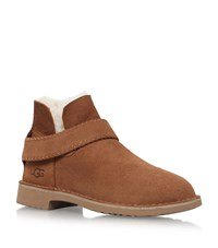 Ugg Australia Mckay Sheepskin Ankle Boots Female Brown