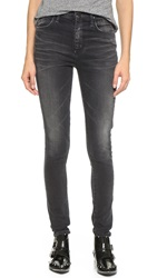 Gold Sign Brigitte High Rise Skinny Jeans Crush