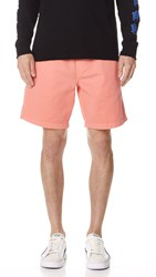 Obey Heritage Shorts Pale Coral