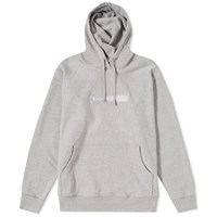 Raised By Wolves Box Logo Popover Hoody Grey