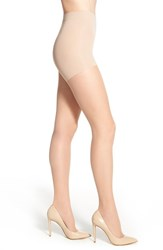 Women's Item M6 'Invisible' Pantyhose Savanna