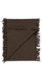 Our Legacy Fringed Scarf Mudd