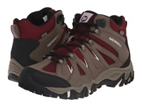 Merrell Mojave Mid Waterproof Boulder Red Women's Hiking Boots Brown