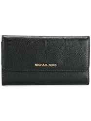 Michael Michael Kors Flap Wallet Black