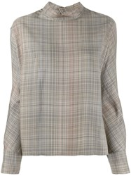 Stephan Schneider Relaxed Fit Leafless Blouse Neutrals