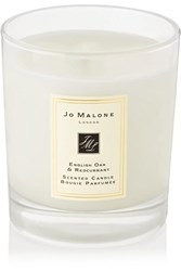 Jo Malone London English Oak And Redcurrant Scented Home Candle Colorless