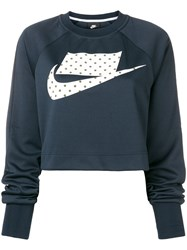 Nike Loose Fitted Sweatshirt Blue