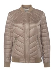 Bernardo Primaloft Packable Down Bomber Beige