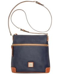 Dooney And Bourke Pebble Crossbody Midnight Blue