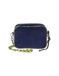 Innue' Small Leather Bags Acid Green