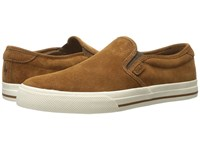 Polo Ralph Lauren Vaughn Slip On New Snuff Sport Suede Men's Shoes Brown