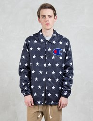Champion Reverse Weave Overall Stars Coach Jacket