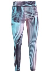 Venice Beach Carbon Daoh Tights Gaudy Mission Blue