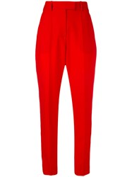 Racil High Waisted Trailored Trousers Women Polyester Triacetate Viscose Wool 40