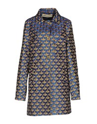 Shirtaporter Coats Bright Blue