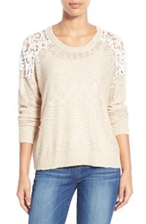 Women's Dex Lace Inset Sweater