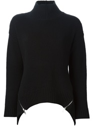 Iceberg Zip Detail Sweater Black
