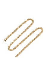 Emily And Ashley 30 Locket Charm Chain Necklace Gold