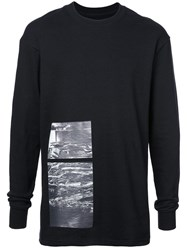 Song For The Mute Relaxed Fit Sweatshirt Black