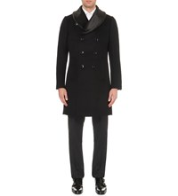 Reiss Mcgregor Wool Coat Black
