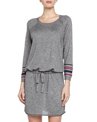 Soft Joie Blouson Dress In Heathered Jersey Small