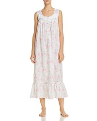 Eileen West Floral Lawn Ballet Gown Watercolor Floral