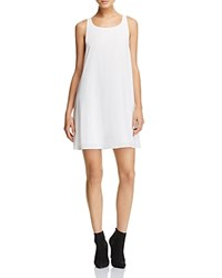 Alice Olivia Estelle Racerback Swing Dress 100 Bloomingdale's Exclusive Off White