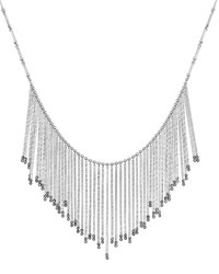 Coomi Spring Sterling Silver Necklace With Diamonds Large