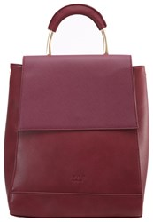 Lydc London Rucksack Wine Bordeaux