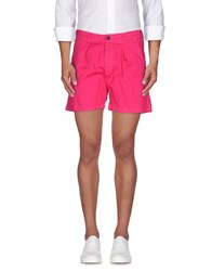 Macchia J Trousers Bermuda Shorts Men Fuchsia