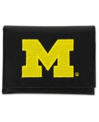 Rico Industries Michigan Wolverines Trifold Wallet Black