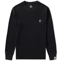 A Bathing Ape Thermal Tee Black