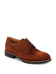 Vince Camuto Ayer Wingtip Derby Shoes Whiskey