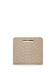 Gigi New York Mini Folding Wallet Stone