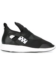 Y 3 Elasticated Sneakers Black